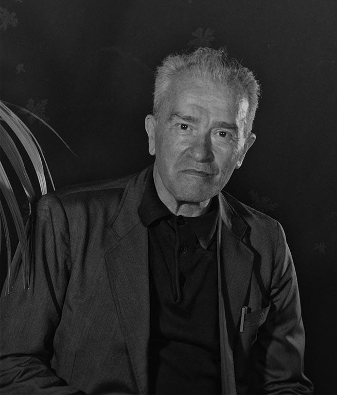 """ritratto di Pietro Ingrao """"Festa Nazionale dell'Unità  1984"""""""